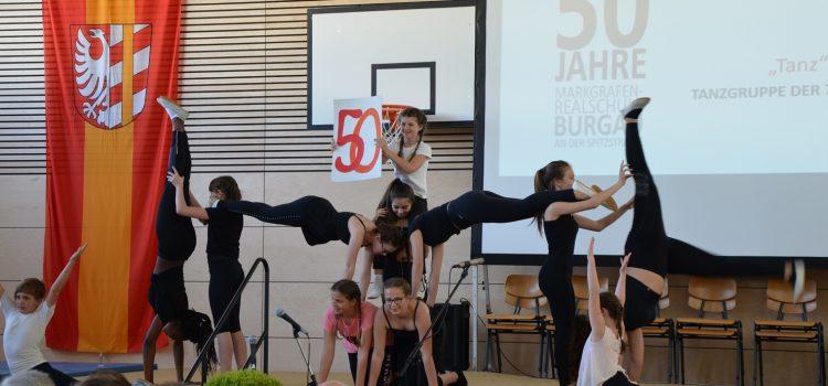 50 Jahre im Schulgebäude der Markgrafen-Realschule Burgau